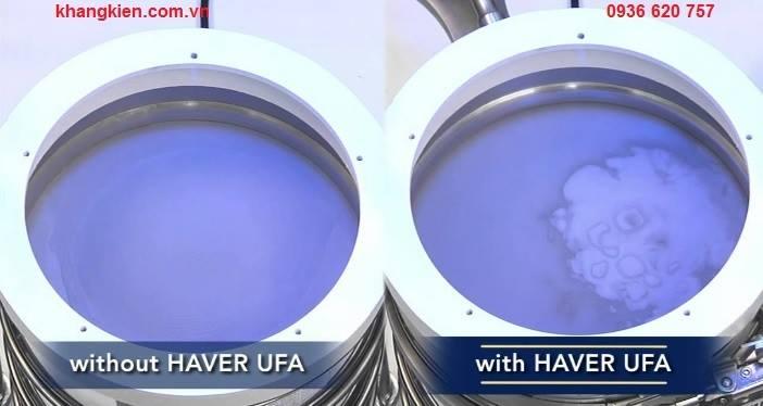 Chất lượng khi sử dụng thiết bị lắc mẫu bằng siêu âm Haver & Boecker UFAn - khangkien.com.vn