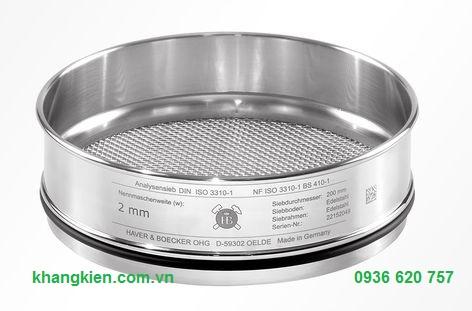 Bộ sàng đá tiêu chuẩn ISO 3310- BS410 - ASTM Haver & Boecker - khangkien.com.vn