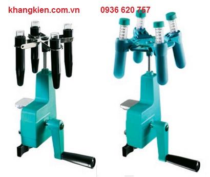 Máy ly tâm quay tay 2 chỗ, 4 chỗ x 15ml - khangkien.com.vn
