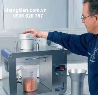 Thiết bị đo độ chảy vật liệu Haver & Boecker Airflow tester - khangkien.com.vn
