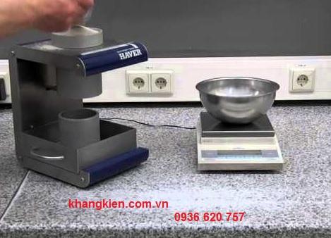 Thiết bị đo tỷ trọng vật liệu Haver & Boecker Bulk density tester - khangkien.com.vn chính hãng