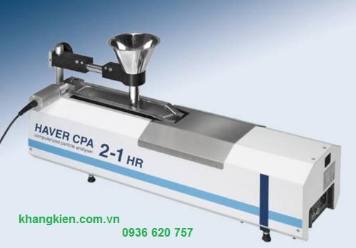 Thiết bị phân tích cỡ hạt từ 10mm - 4mm Haver & Boecker CPA 2-1 HR - khangkien.com.vn
