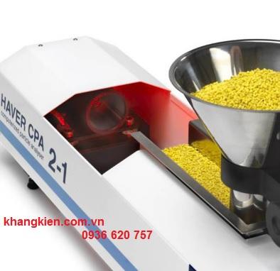 Thiết bị phân tích cỡ hạt từ 10mm - 4mm Haver & Boecker CPA 2-1 HR khangkien.com.vn su dung nhanh