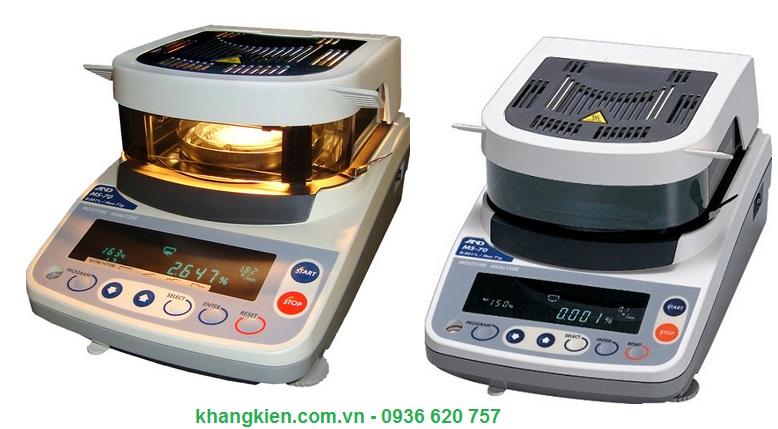 Cân sấy ẩm thiết bị phân tích độ ẩm AND - Nhật Model MS70 - khangkien.com.vn