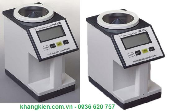 Máy đo độ ẩm hạt giống Kett - Nhật Model PM 450 - khangkien.com.vn