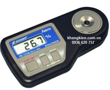Máy đo khúc xạ kế cầm tay Atago PR-101a - Atago - khangkien.com.vn