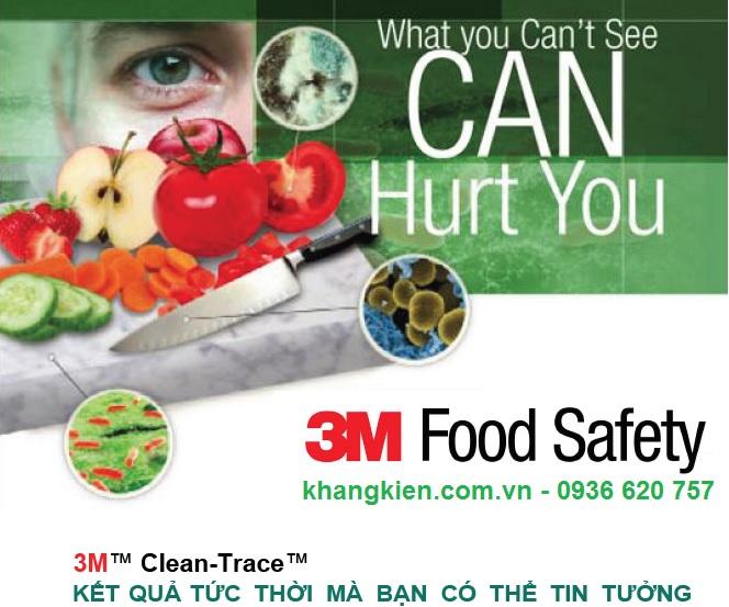 Hệ Thống Kiểm Soát Vệ Sinh - 3M Clean-Trace - khangkien.com.vn - 0936 620 757