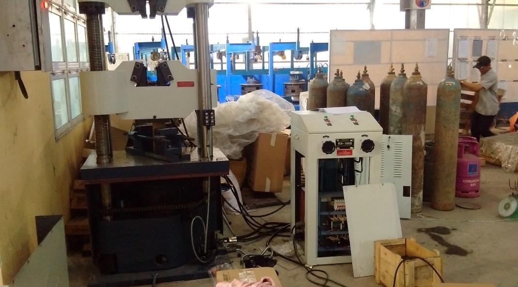 Dự án cung cấp máy Máy kéo nén vạn năng công suất 1000KN - khangkien.com.vn