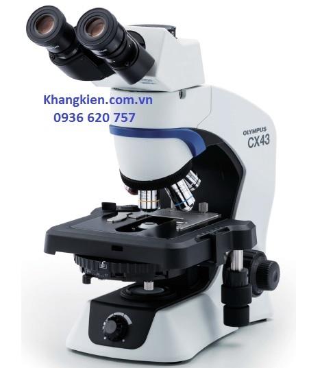 Kính hiển vi sinh học 3 mắt Nhât Bản Olympus CX43 - khangkien.com.vn - 0936 620 757