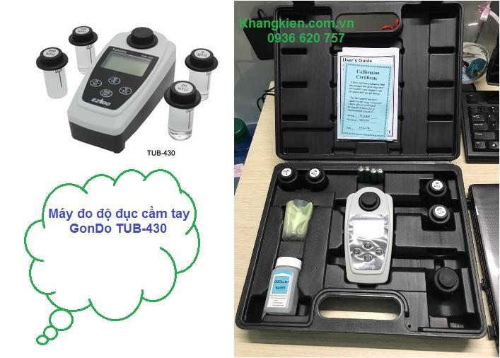 Máy đo độ đục cầm tay GonDo TUB-430 - khangkien.com.vn - 0936 620 757