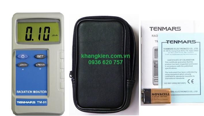 Máy đo phóng xạ thiết bị đo phóng xạ Tenmars TM-91 - khangkien.com.vn - 0936 620 757