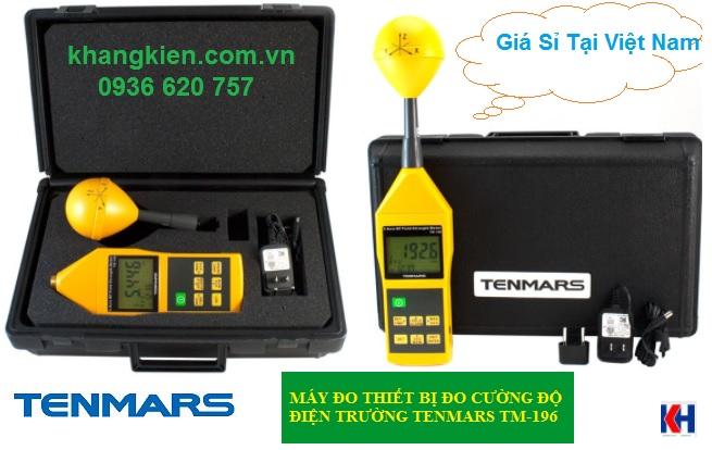 Máy đo thiết bị đo cường độ điện trường Tenmars TM-196 - khangkien.com.vn - 0936 620 757