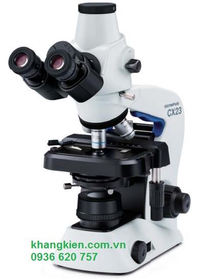Kính hiển vi sinh học 3 mắt Olympus CX23T - Kết nối Camera - Khangkien.com.vn