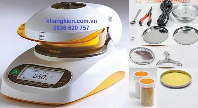 Cân Sấy Phân Tích Độ Ẩm Kett Nhật Bản FD-660 - khangkien.com.vn - 0936 620 757