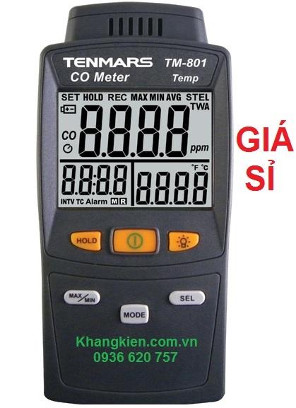 Máy đo nồng độ CO trong không khí Tenmars TM-801