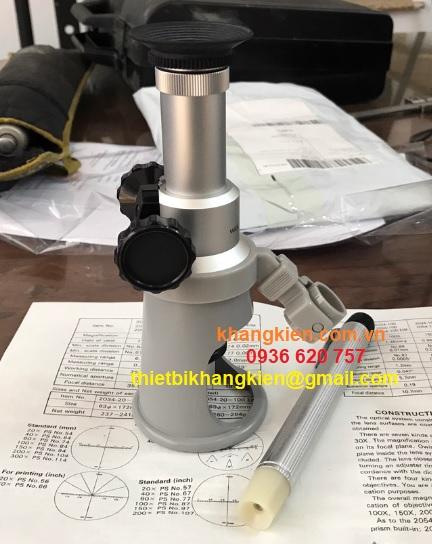 Thiết bị đo bề rộng vết nứt của bê tông - khangkien.com.vn
