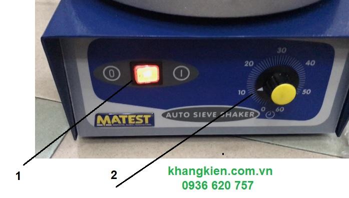 Hướng dẫn sử dụng máy lắc sàng Matest A060-01 - khangkien.com.vn