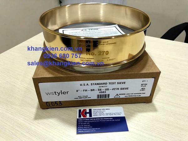 Bộ sàng rây dược điển Tyler - khangkien.com.vn - 0936 620 757