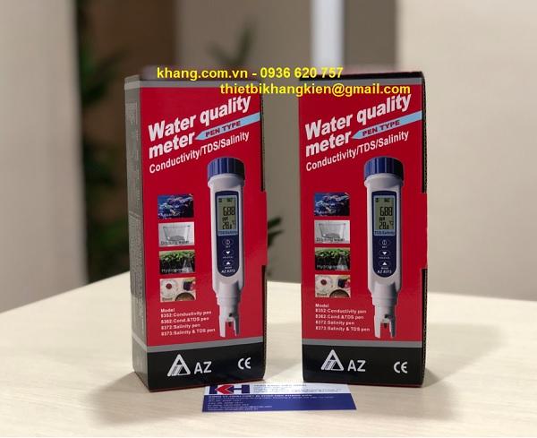 So sánh bút đo độ mặn AZ8372 và 7021