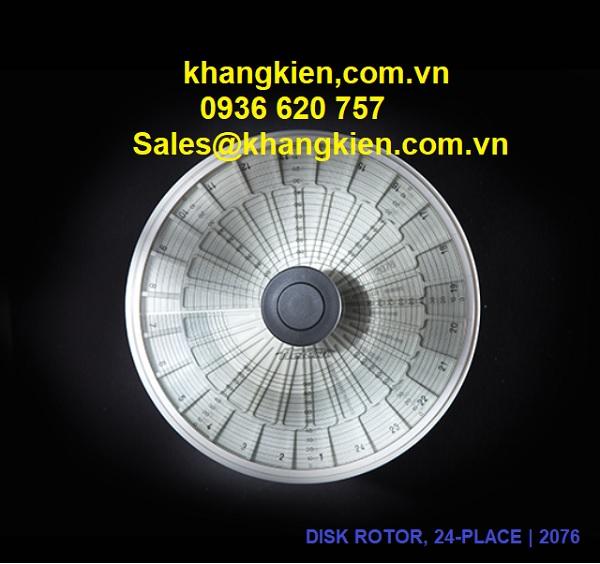 Rotor Cat. No 2076, 24 vị trí quay tối đa 13000 vòng