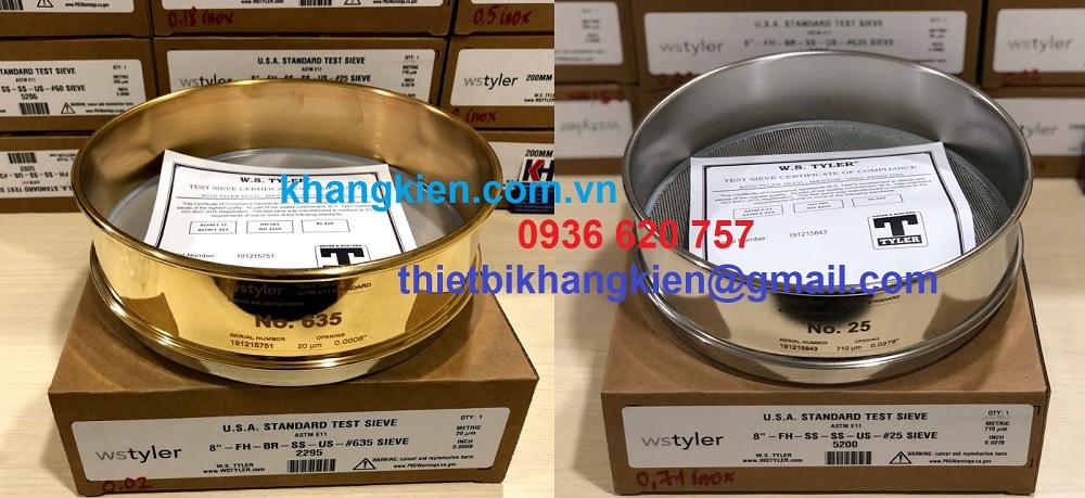 Sàng thí nghiệm WS Tyler - khangkien.com.vn - 0936 620 757