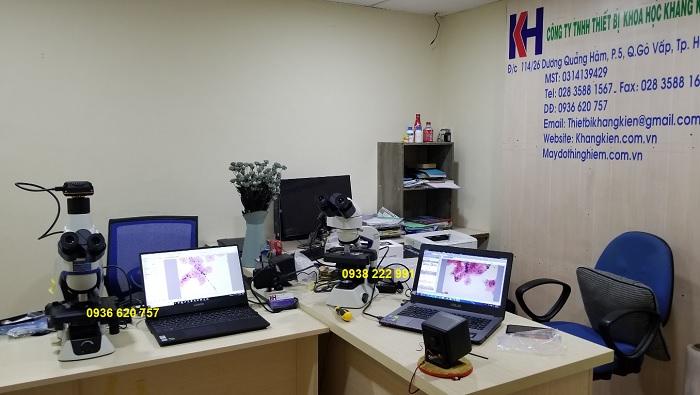 Phần mềm giải phẫu bệnh chụp tiêu bản - camera kính hiển vi