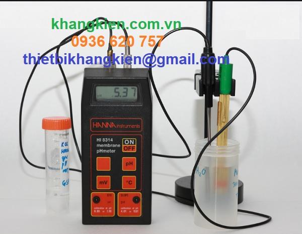 HDSD Máy Đo pH HI 8314