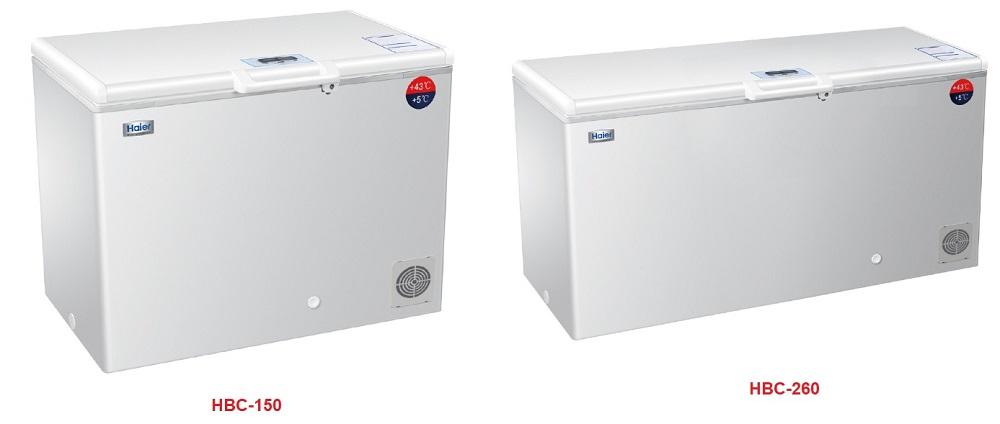 Một số sản phẩm mới được thay thế của tủ bảo quản HAIER