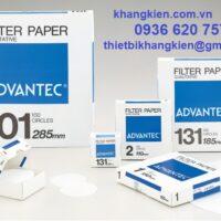 Giấy lọc định tính Advantec - khangkien.com.vn - 0936 620 757