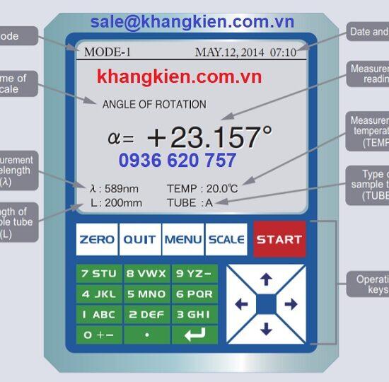 HDSD máy đo phân cực Atago AP-300 - khangkien.com.vn