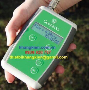 HDSD Thiết Bị Đo Tốc Độ Dòng Chảy – GEOPACKS MFP 126-S - khangkien.com.vn
