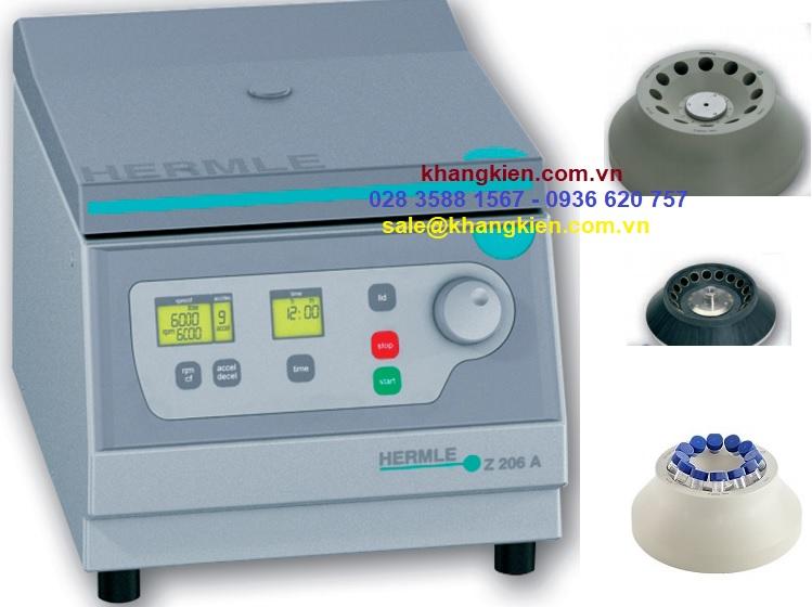 Top 3 máy ly tâm quay 5ml và 15ml Hermle Z 206A