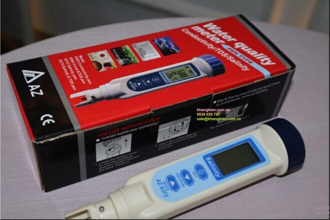 Lý do nên chọn máy đo độ mặn AZ8372