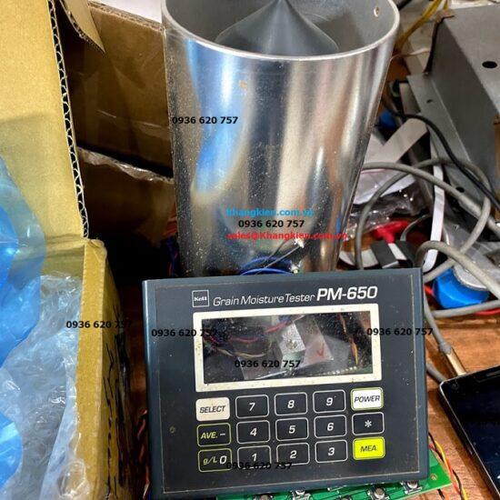Máy đo độ độ ẩm ngũ cốc nông sản kett pm 650 được sửa chữa như mới.jpg